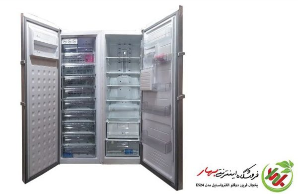 یخچال فریزر دوقلوی الکترواستیل مدل Es24 سری پرایم prime