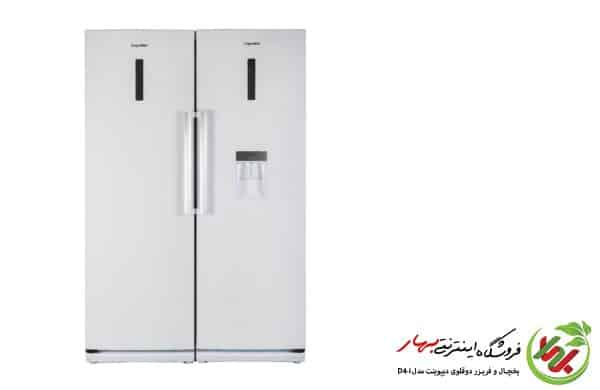 یخچال فریزر دیپوینت مدل D4i دوقلو