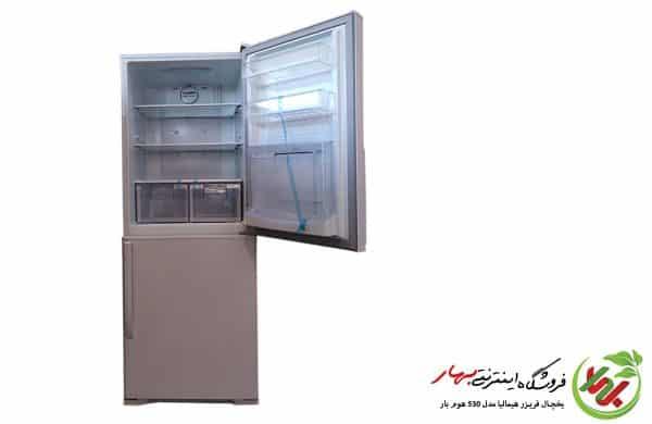 یخچال فریزر کمبی هیمالیا مدل 530 هوم بار