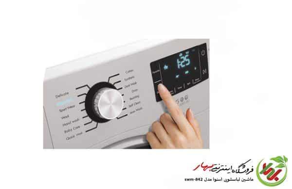ماشین لباسشویی اسنوا مدل swm-842