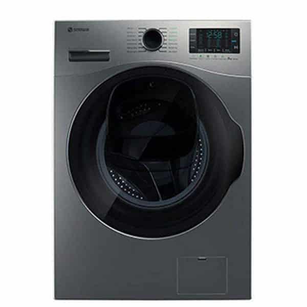 ماشین لباسشویی اسنوا مدل swm-842 ظرفیت ۸ کیلوگرم رنگ سفید واش این واش