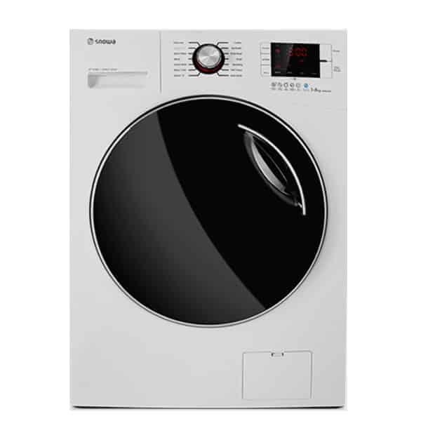 ماشین لباسشویی اسنوا مدل swd-octa c اکتا سی ظرفیت ۸ کیلوگرم رنگ سفید
