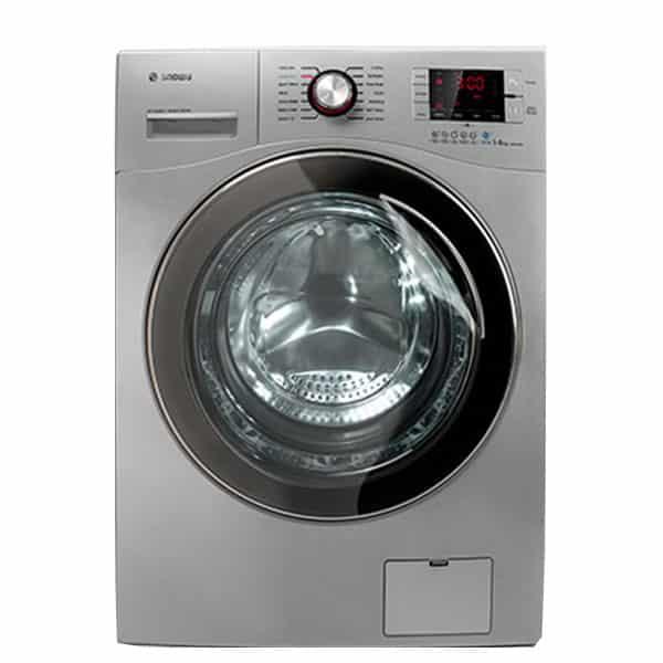ماشین لباسشویی اسنوا مدل swd-octa s ظرفیت ۸ کیلوگرم رنگ نقره ای
