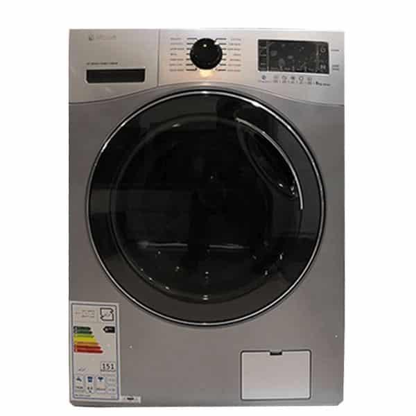 ماشین لباسشویی اکتا پلاس اسنوا مدل swd-821 ظرفیت ۸ کیلوگرم رنگ نقره ای