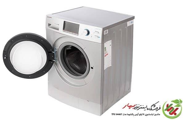 ماشین لباسشویی پاکشوما مدل TFU-94407 ظرفیت 9 کیلوگرم