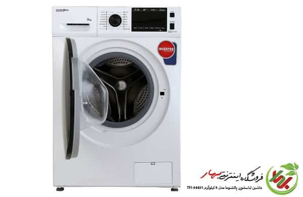 ماشین لباسشویی پاکشوما مدل TFi-94401 ظرفیت 9 کیلوگرم