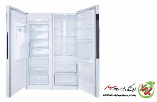 یخچال فریزر دوقلو هیمالیا مدل آلفا