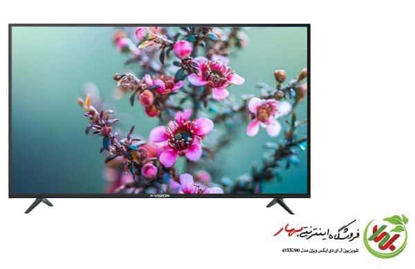 تلویزیون ال ای دی ایکس ویژن مدل 43XK580