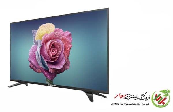 تلویزیون ال ای دی ایکس ویژن مدل 49XT530 سایز 49 Full HD