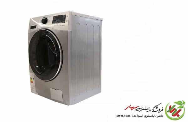 ماشین لباسشویی اسنوا مدل SWM-84518 سری octa pluse ظرفیت 8 کیلوگرم