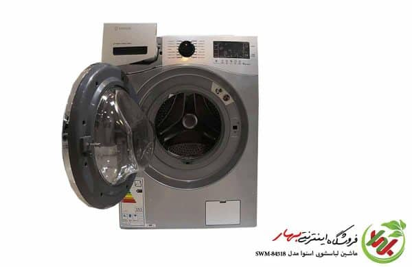 ماشین لباسشویی اسنوا مدل SWM-84518 سری اکتا پلاس ظرفیت 8 کیلوگرم