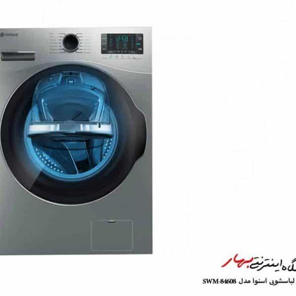ماشین لباسشویی اسنوا مدل SWM-84608 ظرفیت 8 کیلوگرم واش این واش