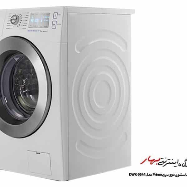 ماشین لباسشویی دوو مدل DWK-9544 سفید 9 کیلو