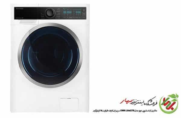 ماشین لباسشویی دوو مدل DWK-Life82TB سری ذِن لایف ظرفیت 8 کیلوگرم