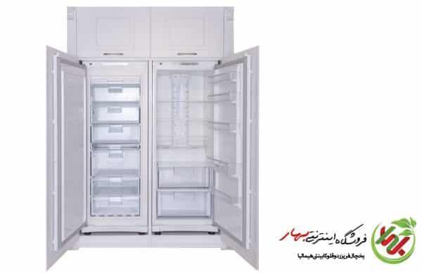 یخچال دوقلو کابینتی هیمالیا توکار