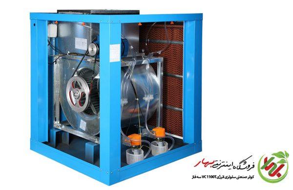 کولر صنعتی 11000 سلولزی انرژی VC1100T سه فاز